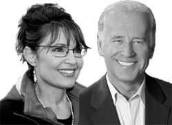 Sarah Palin und Joe Biden